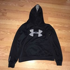 Black Under Armour Hoodie with Greg Logo